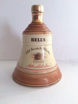 Vintage BELL'S Whisky Bottle.Empty. Made by WADE. Free P+P (UK) for sale  Shipping to Ireland
