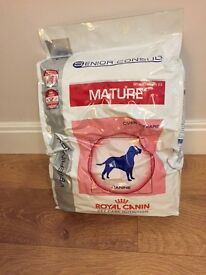 Royal Canin mature dog food