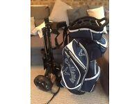 Calaway Golf bag and cart