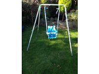 Toddler Garden Swing