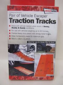Streetwize Vehicle Escape Recovery Tracks (pair) red, new, unused in original packaging £12 ono