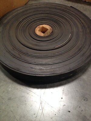 """4"""" wide, 2ply x 1/8"""" x 1/16"""", Rubber Conveyor Belt - Sold by the foot"""