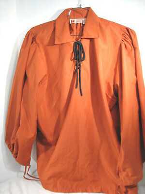 LATE RENAISSANCE SHIRT MUSEUM REPLICAS MEDIEVAL HALLOWEEN COSTUME LARGE - Museum Lates Halloween