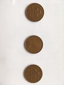 x3 great condition rare valuable New Pence 1981. £50 a piece or £120 for all three. Open to offers.