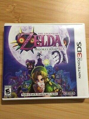 Nintendo 3DS Zelda Majora's Mask 3D