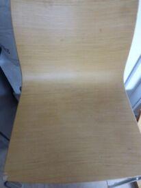 bent oak ply arper catifa chairs x4 £70. Penzance