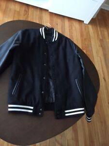 JACKET WITH FAUX LEATHER