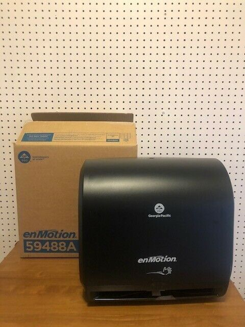 """Automated Touchless 10"""" Roll Towel Dispenser *Brand New* -Black"""