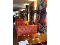 Mexican restaurant in Shepherds Bush recruiting FULL TIME WAITER / WAITRESS and BARTENDER