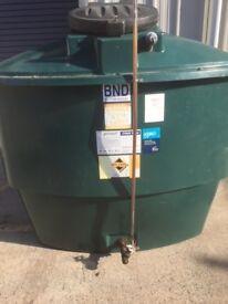 2700 litre Bunded oil tank
