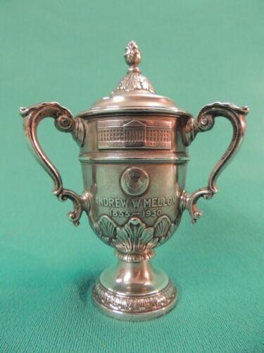1930 Gorham Sterling Silver Miniature Trophy Award Andrew Mellon Celebration