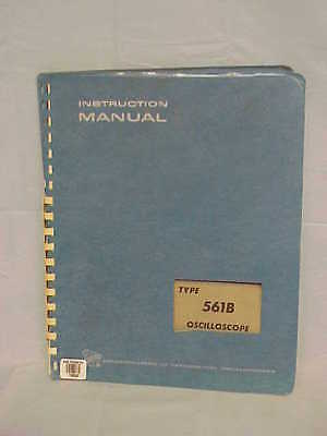Tektronix Type 561b Oscilloscope Instruction Manual