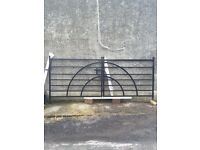 Brand New Pair Of Double Entrance Gates For Sale