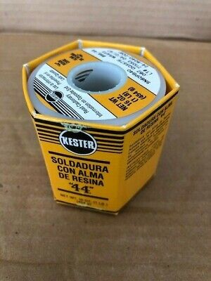 New 1 Lb Kester 44 24-4060-0061 Wire Solder .062 Dia Rosin Flux Core 66 1lb