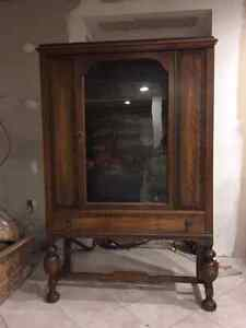 Antique Hutch (Display Cabinet) Cambridge Kitchener Area image 4