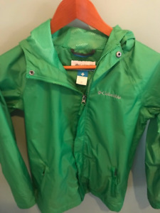 Youth Green Columbia Jacket