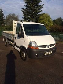 2008 RENUALT MASTER DCI 100 BHP ALLOY DROPSIDE PICK UP 6 SPEED AIR CON *NO VAT*