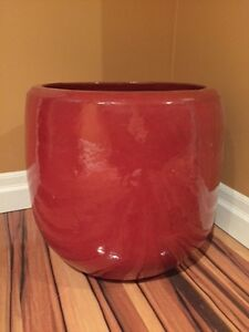Solid Clay Planter