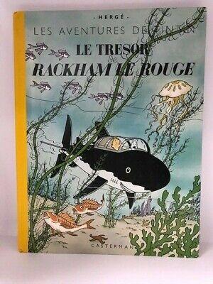 Le Tresor Rackham Le Rouge (Les Aventures De Tintin) by Herge Hardback 2002