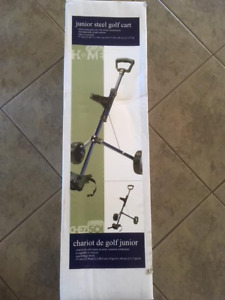 Never used Junior Steel Golf Cart