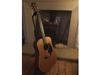 Martin D-28 1966 Natural, 1966, Brazilian Rosewood Back and Sides+ Original Case