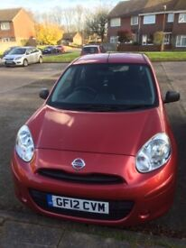 Nissan Micra 2012 (shiraz, well-looked after)