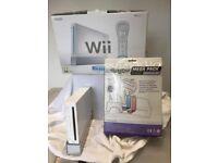 WII Nintendo Console Sport Resrt PLUS DISCO MAT