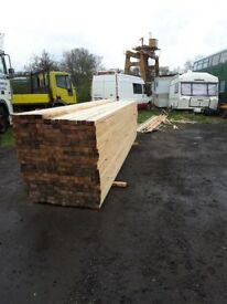 A large lot of surplus sawn softwood (est.4000mm length) - collection only