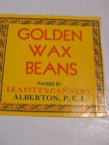 OLD CANNERY LABEL