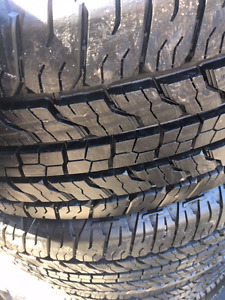 265/60R18 Goodyear Wrangler Fortitude HT New trade-ins