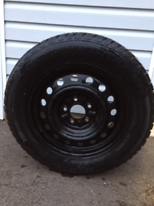 Winter tires, studded