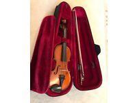 Romanian Gliga Genial 1 Violin - 1/4 Size - Beautiful