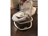 2 in 1 baby swing seat and portable rocker