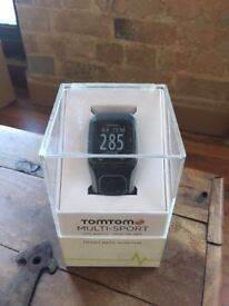 Tomtom Multi Sport GPS Watch with Heart Rate Monitor