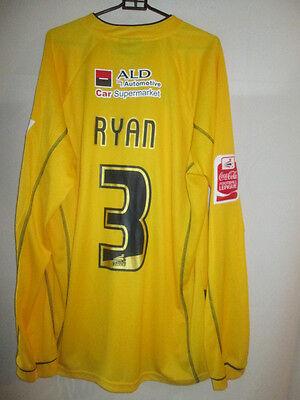 Robbie Ryan Bristol Rovers Match Worn Signed 2005-2006 Football Shirt COA /20784 image