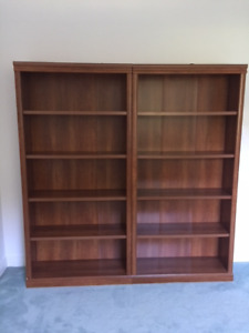 SOLID wood shelves excellent condition $75 each