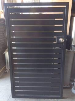 As New Aluminium Slatted Fence Panels and Gates Rocklea Brisbane South West Preview