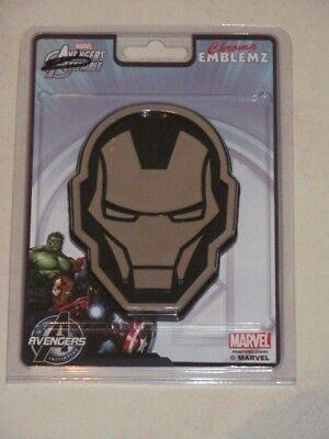 Marvel Avengers Assemble Iron Man Chroma Emblemz Emblem