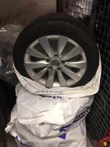 BMW OEM 17 inch winter rims/tires with Pirelli run flats