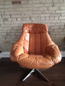 Leather Lounge Chair - $50 - Danforth & Woodbine