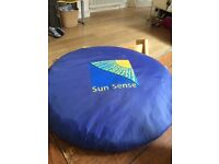 Sunsense UPF 50+ pop up tent
