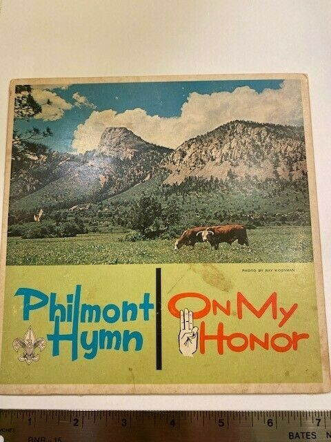 Philmont Hymn Record, Signed by Harry Bartelt, Song Writer