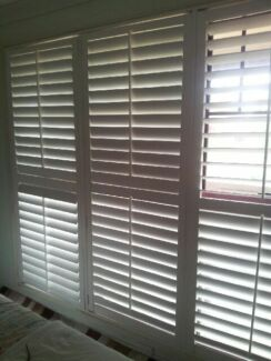 White plantation blinds great condition Westmead Parramatta Area Preview