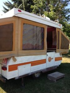 Tent trailer for rent
