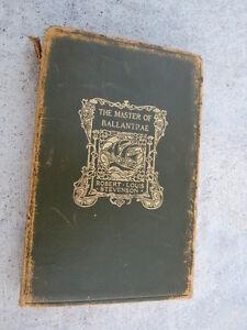 Robert Louis Stevenson- Master of the Ballantrae Book
