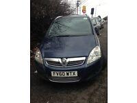 Vauxhal zafira 2011 1.6 diesel PCO for sale