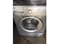 BEKO 8KG GREY WASHING MACHINE,LED DISPALY, EXCELLENT CONDITION, FREE INSTALLATION