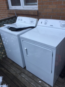 Great Hotpoint Washer and Dryer Set 400$!