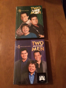 2 DVDs of 2 and 1/2 Men - Great Gift