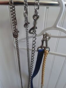 Selection of Leads-  Show - Leather & Nylon- W@W
